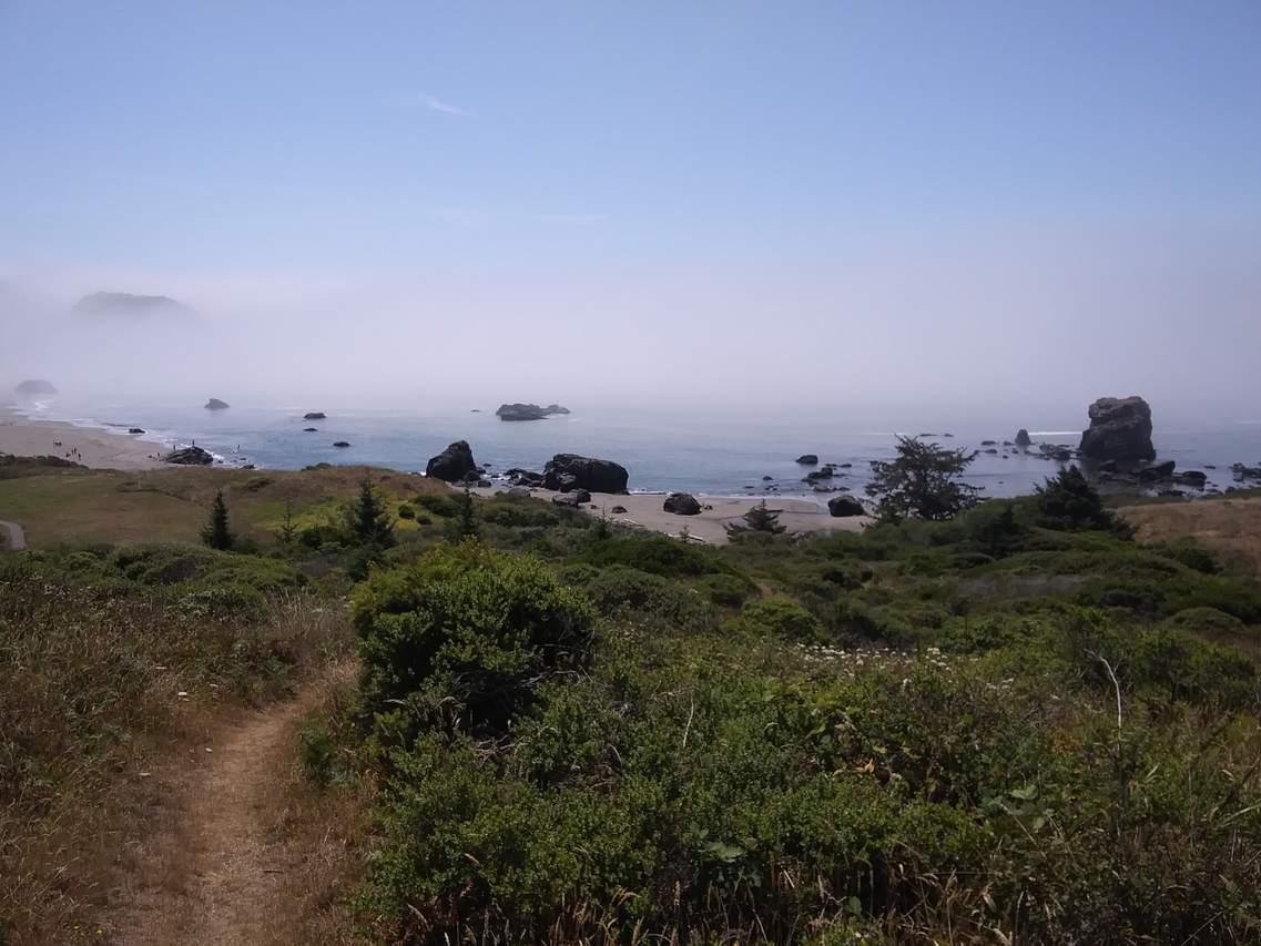 Lone Ranch Beach Trail Brookings Or