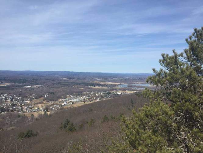Whiting Peak via Metacoment-Monadnock Trail link